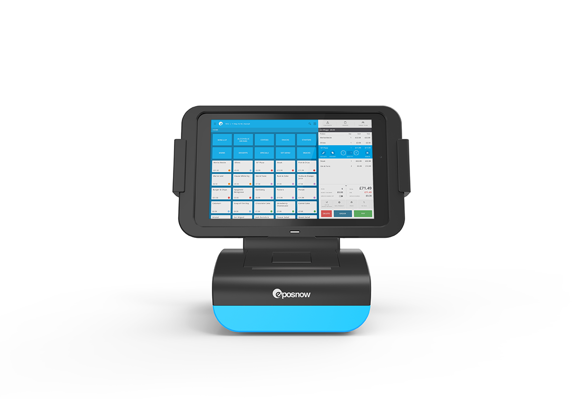 Postogo Epos Now System With Card Reader Nettl Cambridge